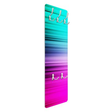 Product picture Coat Rack - Rainbow Display 139x46x2cm