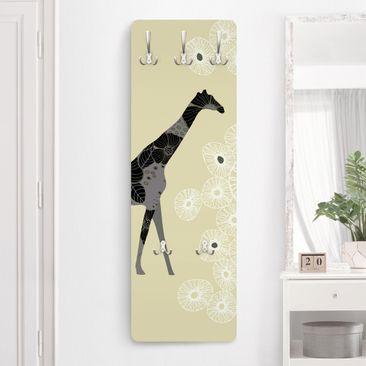 Immagine del prodotto Appendiabiti - Retro Giraffe 139x46x2cm