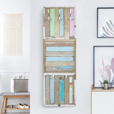 Product picture Coat Rack - Rustic Timber 139x46x2cm