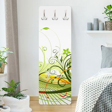 Produktfoto Garderobe - September - Weiß Grün