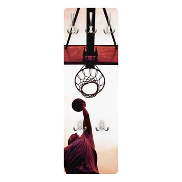 Produktfoto Kindergarderobe - Streetball - Kinderzimmer Basketball