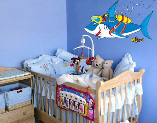 Produktfoto Wandtattoo Kinderzimmer No.188 Harry Hai...