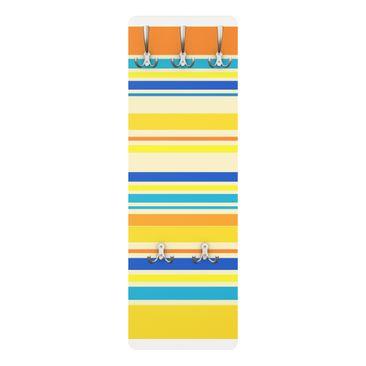 Produktfoto Garderobe Streifenmuster - Super Stripes No.4 - Gelb
