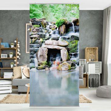 Produktfoto Raumteiler - Wasserfall 250x120cm