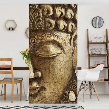 Product picture Panel Curtain Vintage Buddha 250x120cm