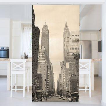 Produktfoto Raumteiler - USA Postcard 250x120cm