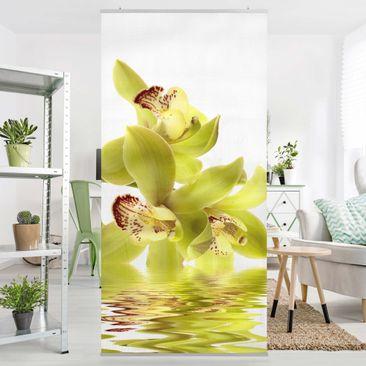 Produktfoto Raumteiler - Splendid Orchid Waters 250x120cm