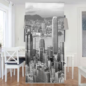Product picture Panel Curtain Skyline Nostalgia...