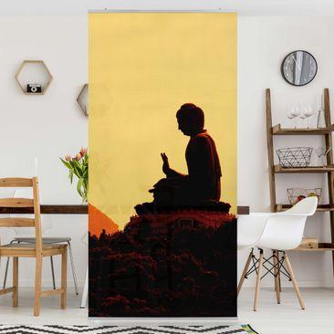 Produktfoto Raumteiler - Resting Buddha 250x120cm