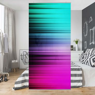 Product picture Panel Curtain Rainbow Display 250x120cm