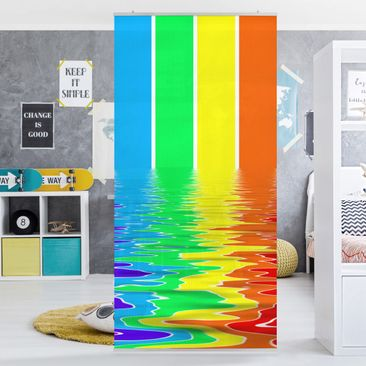 Produktfoto Raumteiler - Rainbow Coloured 250x120cm