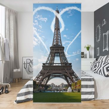 Produktfoto Raumteiler - Paris - City of Love 250x120cm