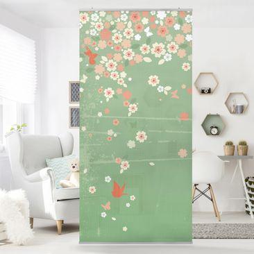 Produktfoto Raumteiler - No.EK236 Spring Background 250x120cm