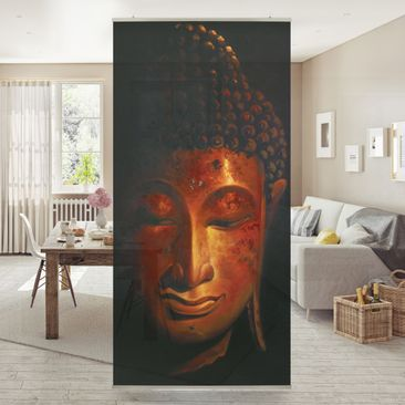 Product picture Panel Curtain Madras Buddha 250x120cm