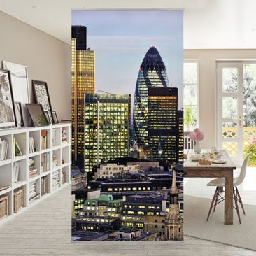 Produktfoto Raumteiler - London City 250x120cm