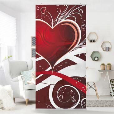 Produktfoto Raumteiler - I Love You! 250x120cm
