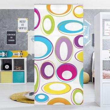 Produktfoto Raumteiler Kinderzimmer - Happy Eggs 250x120cm