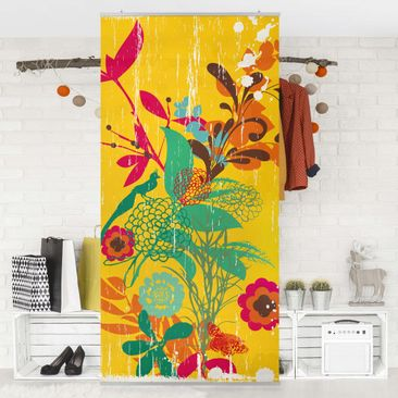 Product picture Panel Curtain Grunge Garden 250x120cm