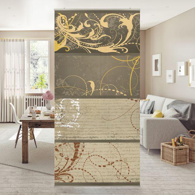 Produktfoto Raumteiler - Grunge Banner Assortment 250x120cm
