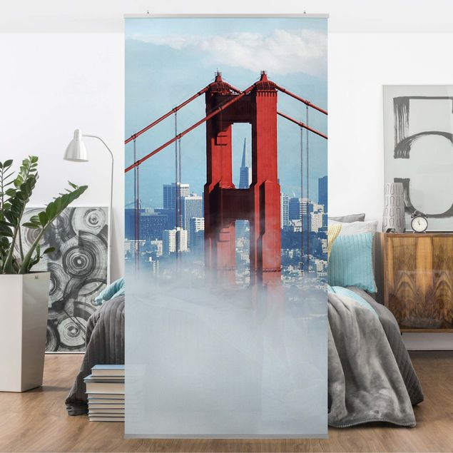 Produktfoto Raumteiler - Good Morning, San Francisco! 250x120cm