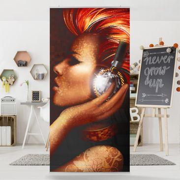Produktfoto Raumteiler - DJane Blingbling 250x120cm