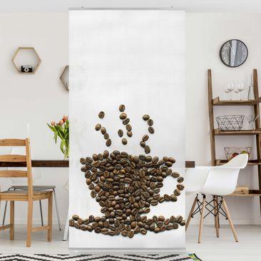 Produktfoto Raumteiler - Coffee Beans Cup 250x120cm