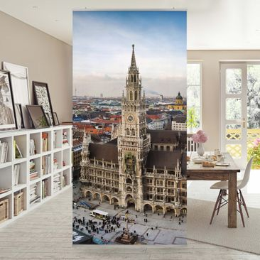 Produktfoto Raumteiler - City of Munich 250x120cm