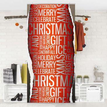 Produktfoto Raumteiler - Christmas Surprise 250x120cm