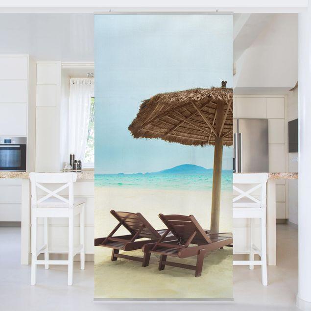 Produktfoto Raumteiler - Beach of Dreams 250x120cm