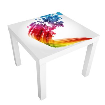 Produktfoto Motif Table Rainbow Wave and Bubbles
