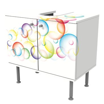 Product picture Design Vanity Rainbow Bubbles 60x55x35cm