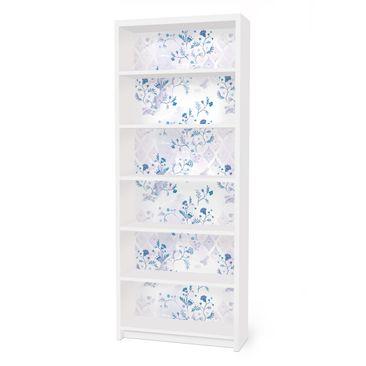 Immagine del prodotto Carta adesiva per mobili IKEA - Billy Libreria - Blue Fantasy Pattern