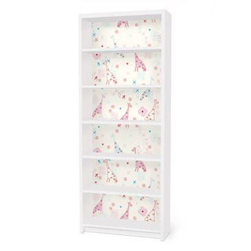 Immagine del prodotto Carta adesiva per mobili IKEA - Billy Libreria - Dreaming Giraffe