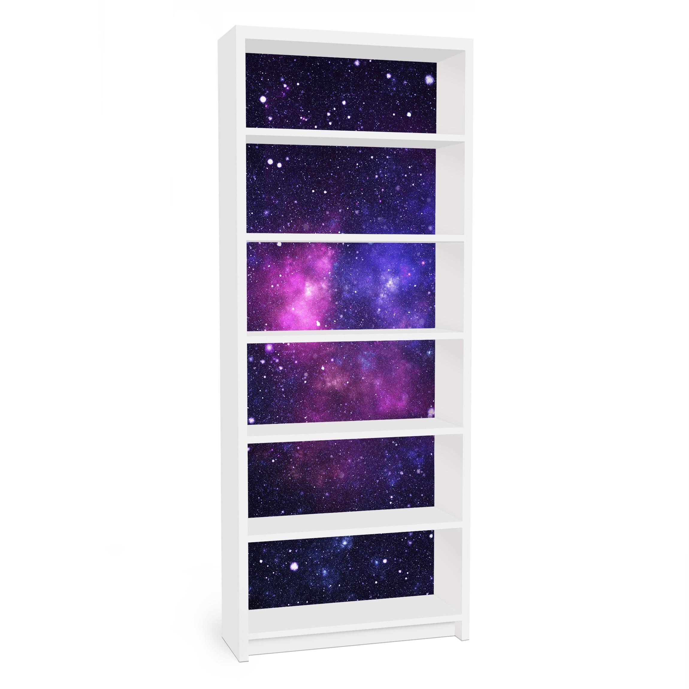 Carta adesiva per mobili ikea billy libreria galaxy for Carta adesiva mobili