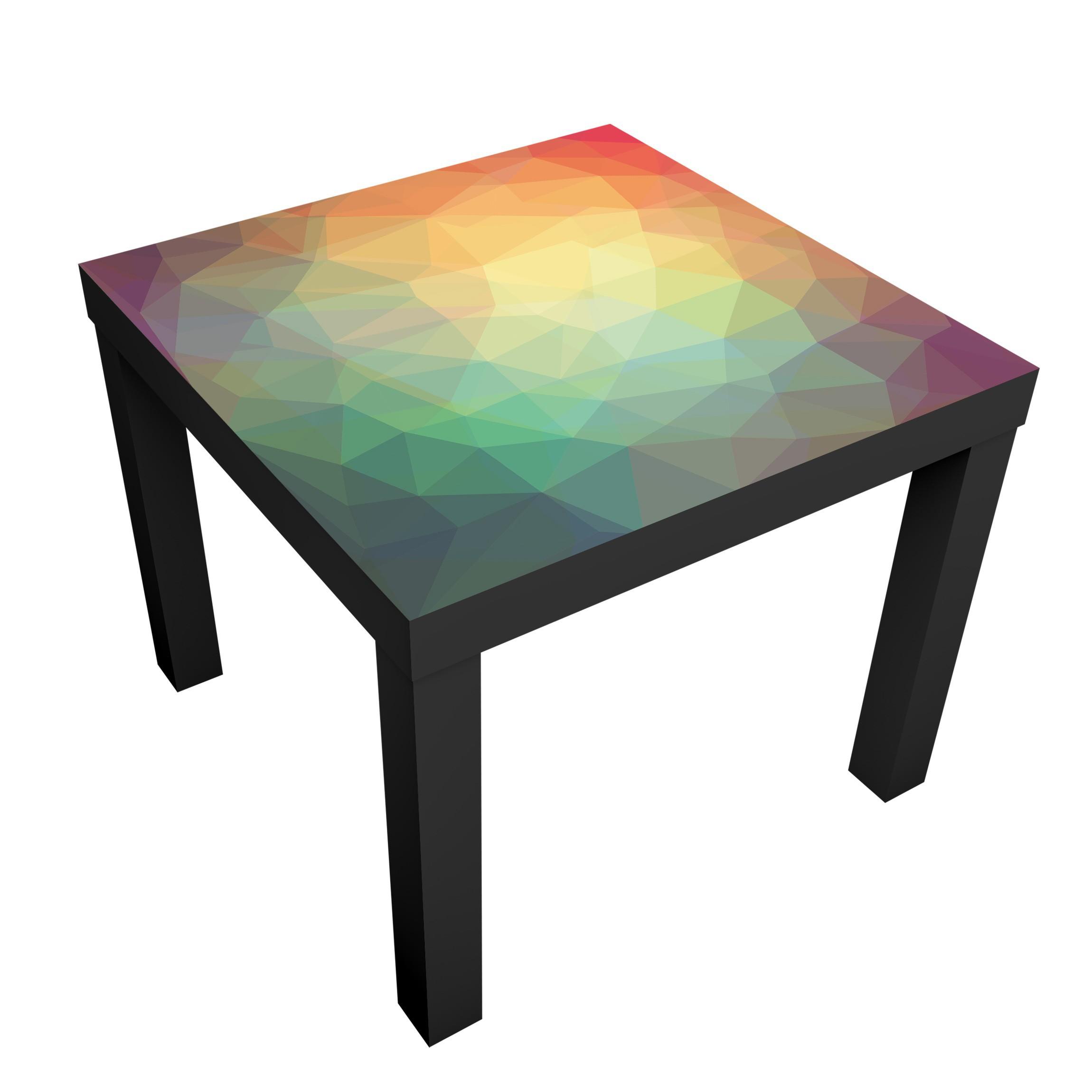 Design tisch no ry32 triangular tische bunt for Designer tisch