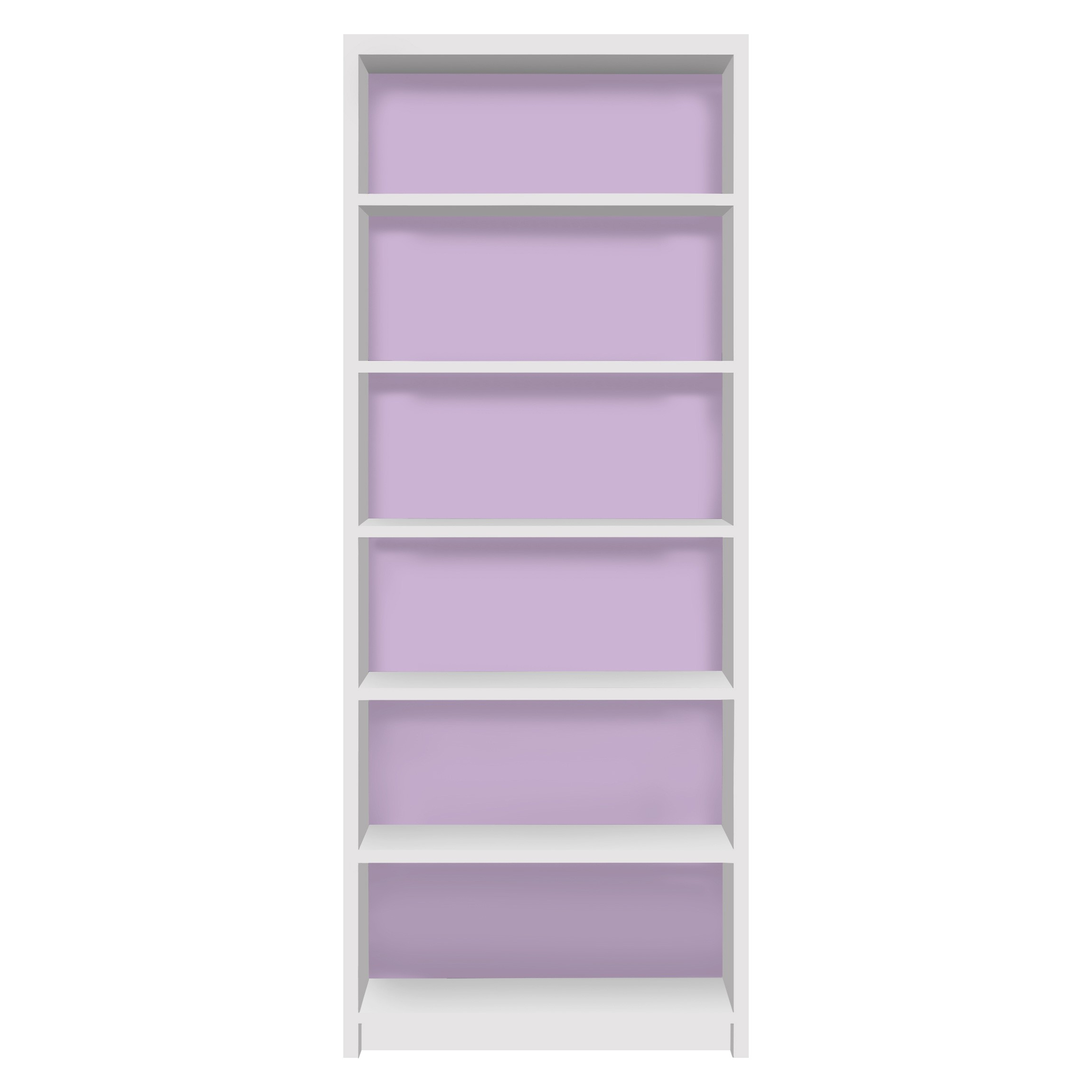 m belfolie f r ikea billy regal klebefolie colour lavender. Black Bedroom Furniture Sets. Home Design Ideas