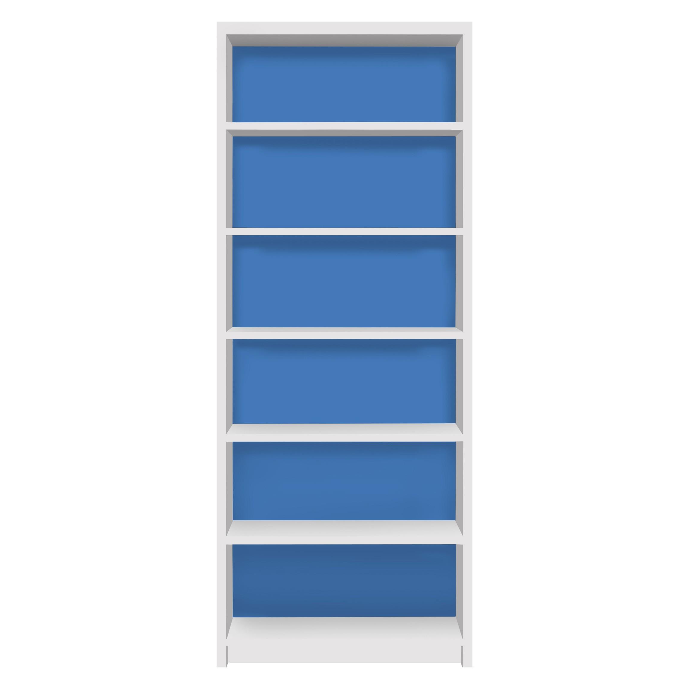 m belfolie f r ikea billy regal klebefolie colour royal blue. Black Bedroom Furniture Sets. Home Design Ideas