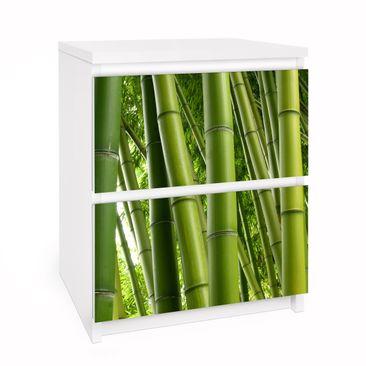 Immagine del prodotto Carta adesiva per mobili IKEA - Malm Cassettiera 2xCassetti - Bamboo Trees No.1