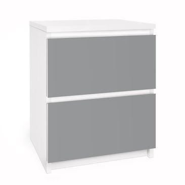 Immagine del prodotto Carta adesiva per mobili IKEA - Malm Cassettiera 2xCassetti - Colour Cool Grey