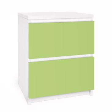 Immagine del prodotto Carta adesiva per mobili IKEA - Malm Cassettiera 2xCassetti - Colour Spring Green