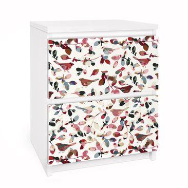 Immagine del prodotto Carta adesiva per mobili IKEA - Malm Cassettiera 2xCassetti - Look Closer