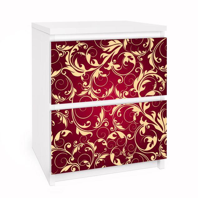 Produktfoto Möbelfolie für IKEA Malm Kommode - Selbstklebefolie The 12 Muses - Kleio
