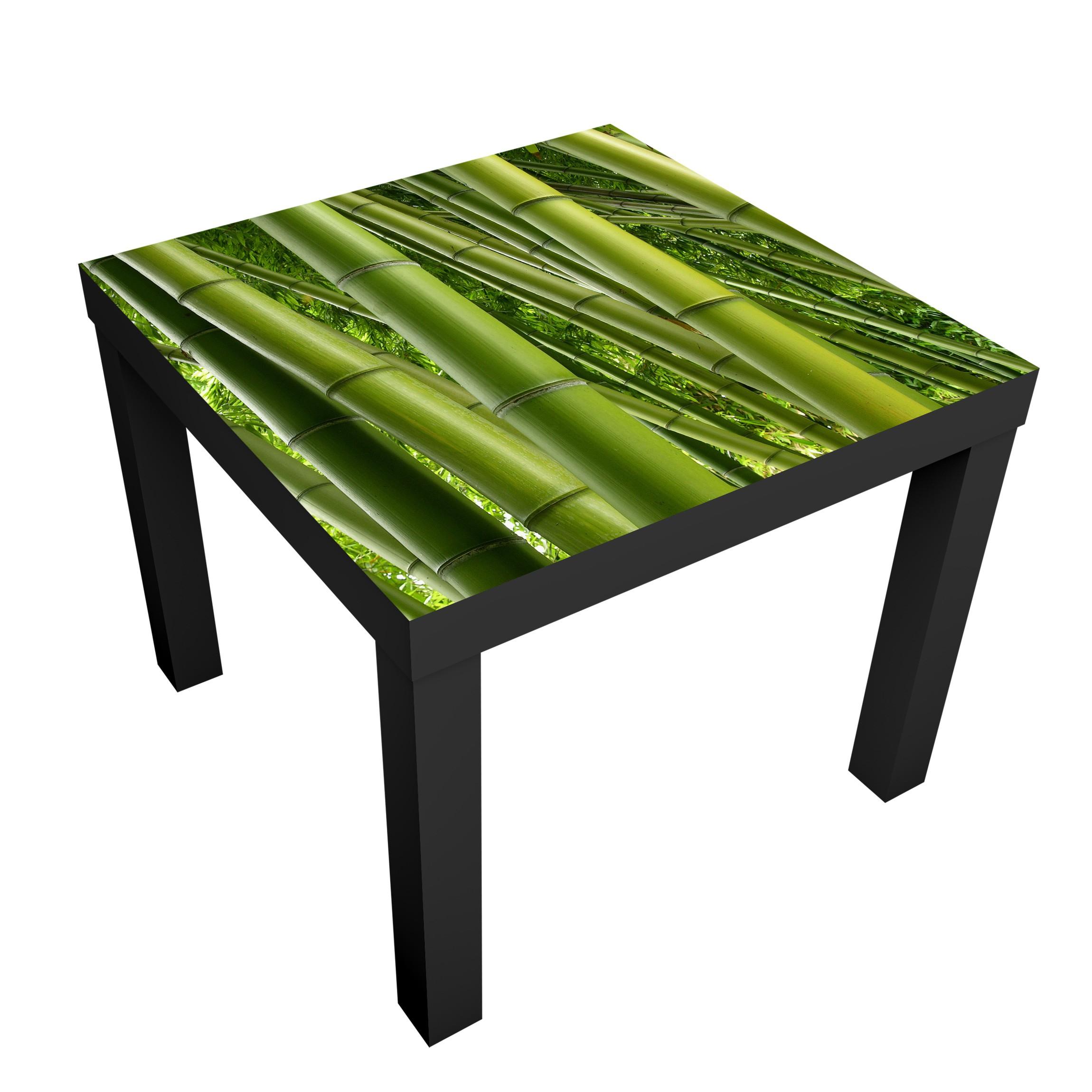 Carta adesiva per mobili ikea lack tavolino bamboo trees - Carta per ricoprire mobili ...