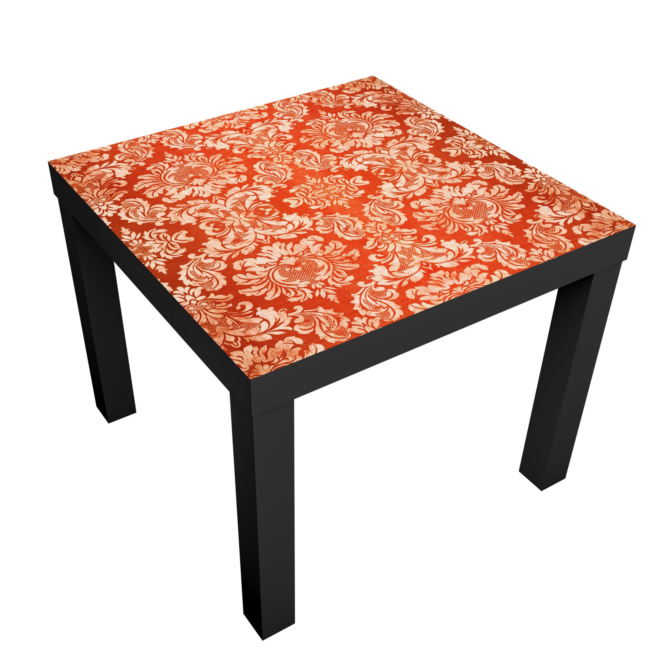 Carta adesiva per mobili ikea lack tavolino baroque wallpaper - Ikea lack tavolino ...