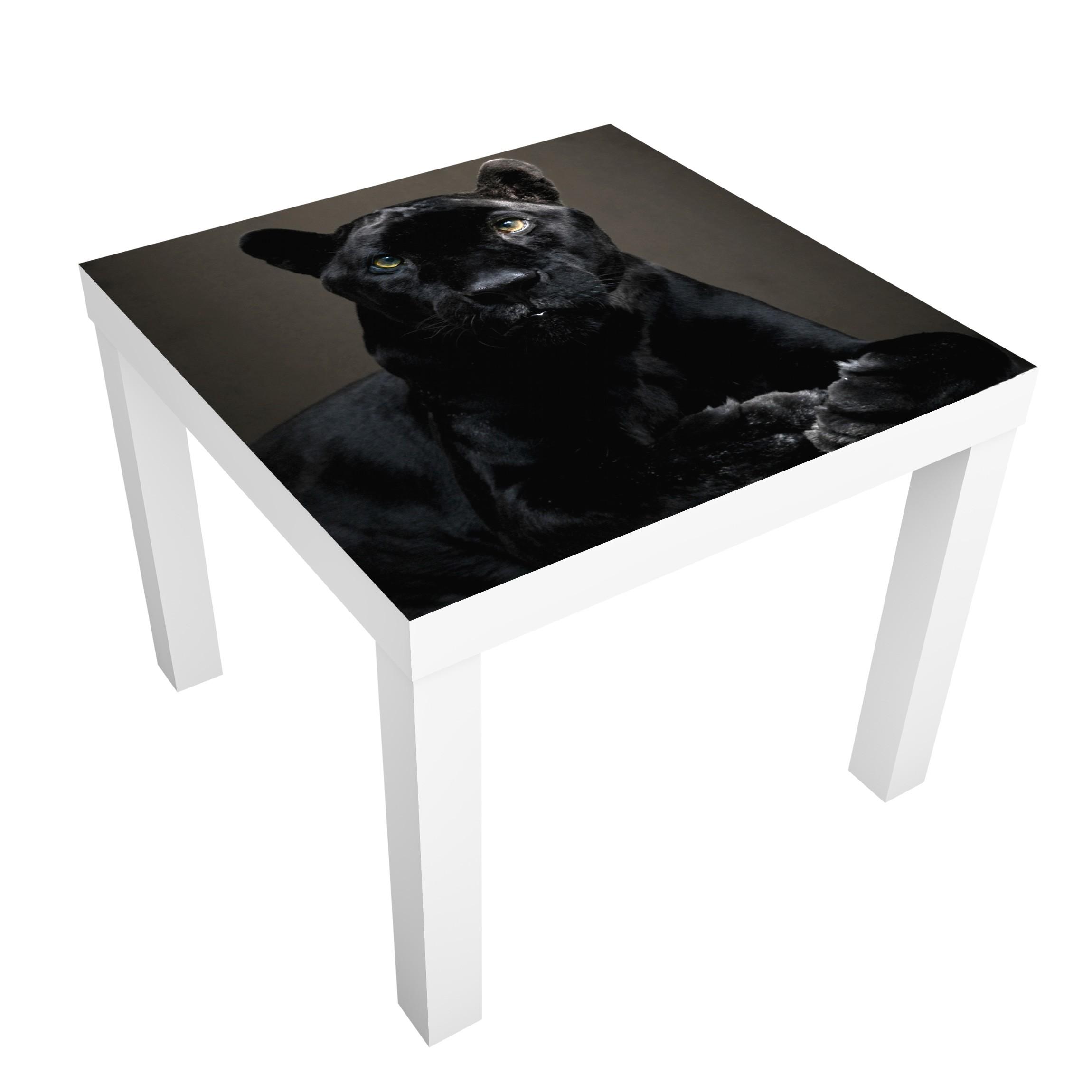 m belfolie f r ikea lack klebefolie black puma. Black Bedroom Furniture Sets. Home Design Ideas