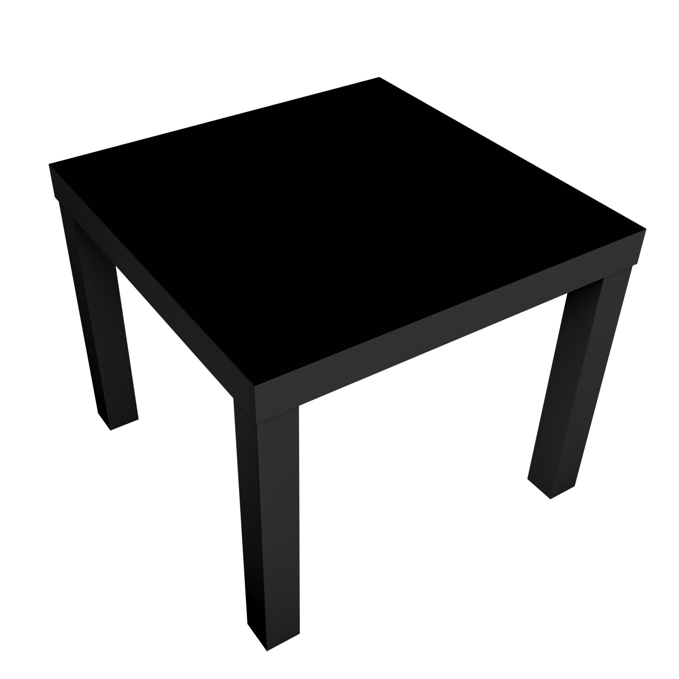 Carta adesiva per mobili ikea lack tavolino colour black - Carta adesiva colorata per mobili ...