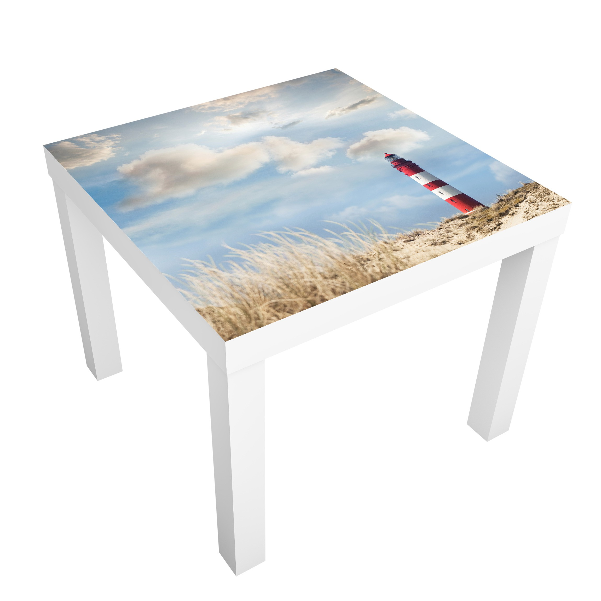 Carta adesiva per mobili ikea lack tavolino lighthouse in the dunes - Lack tavolino ikea ...
