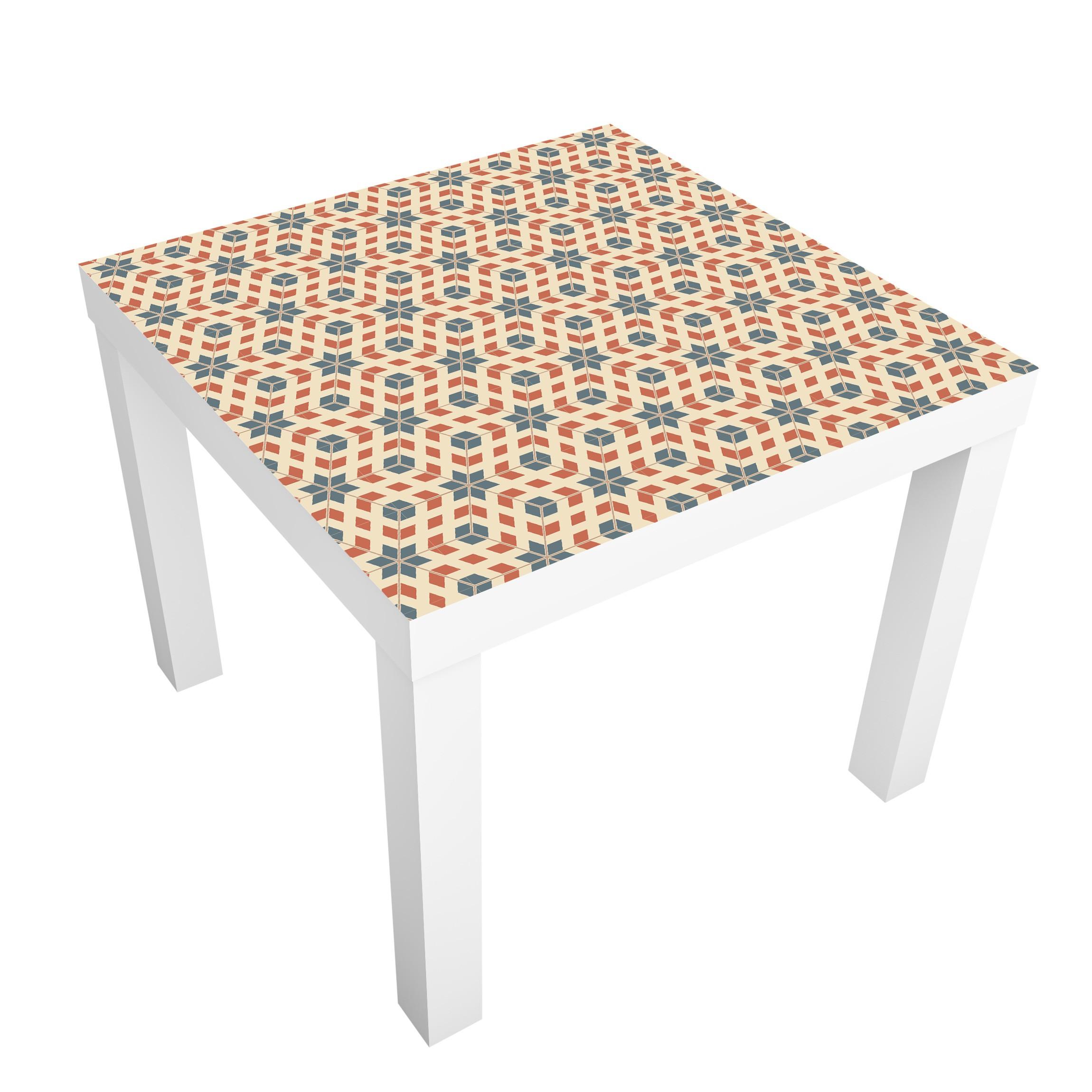 Carta adesiva per mobili ikea lack tavolino pop art design - Pellicola adesiva per mobili ikea ...