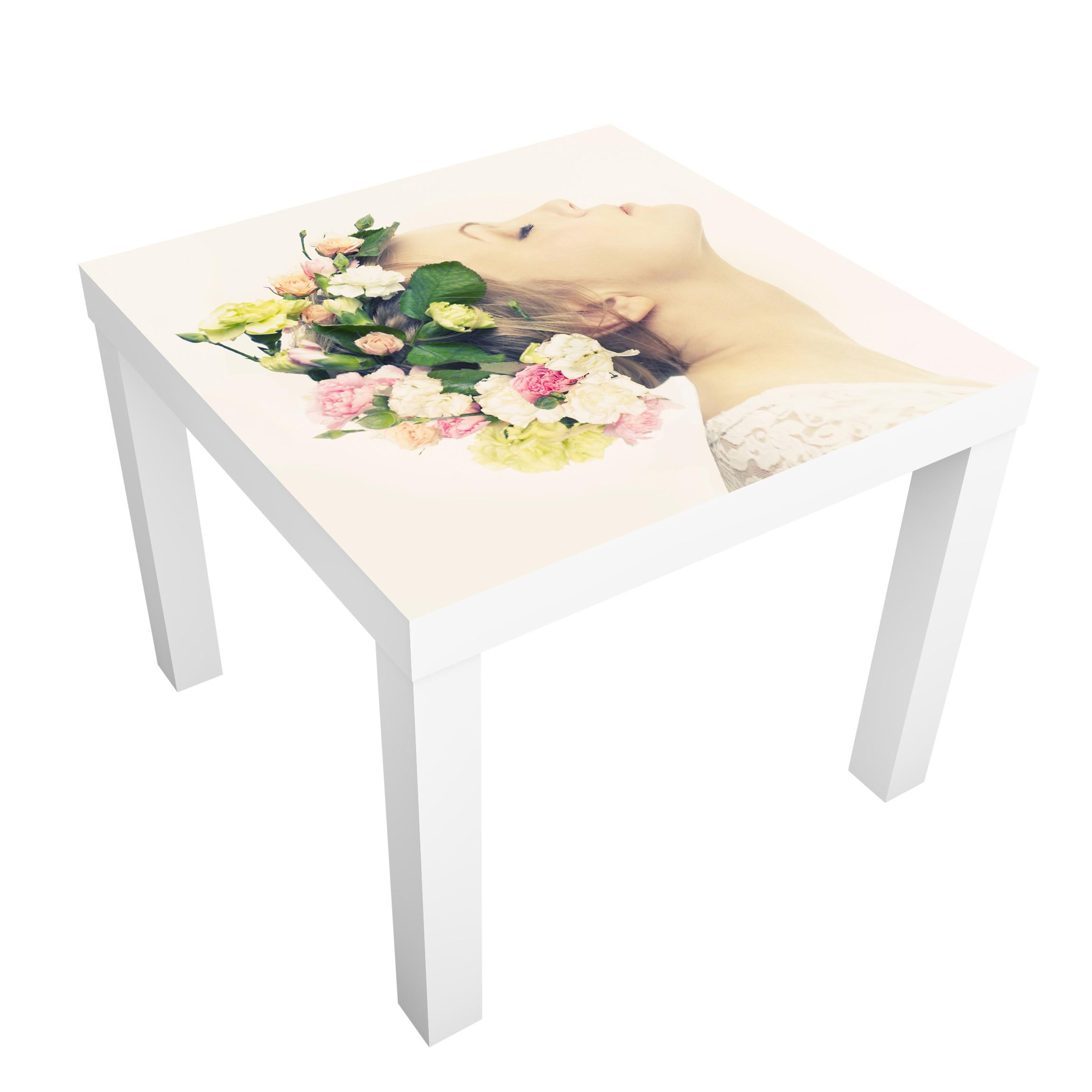 Carta adesiva per mobili ikea lack tavolino princess snow white - Ikea lack tavolino ...