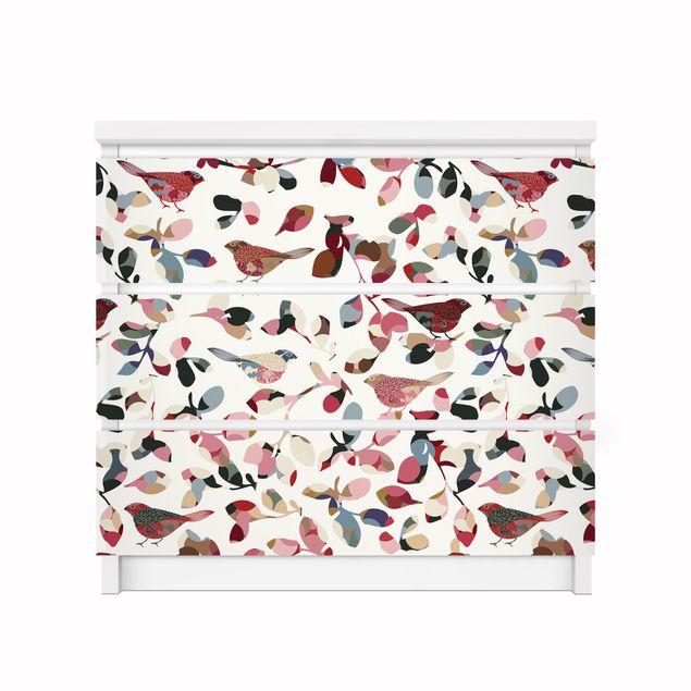 Produktfoto Möbelfolie für IKEA Malm Kommode - Klebefolie Look Closer